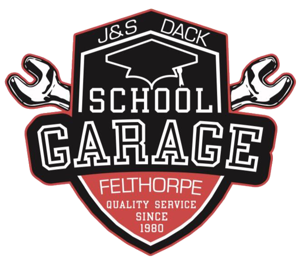 J&S Dack / School Garage Logo