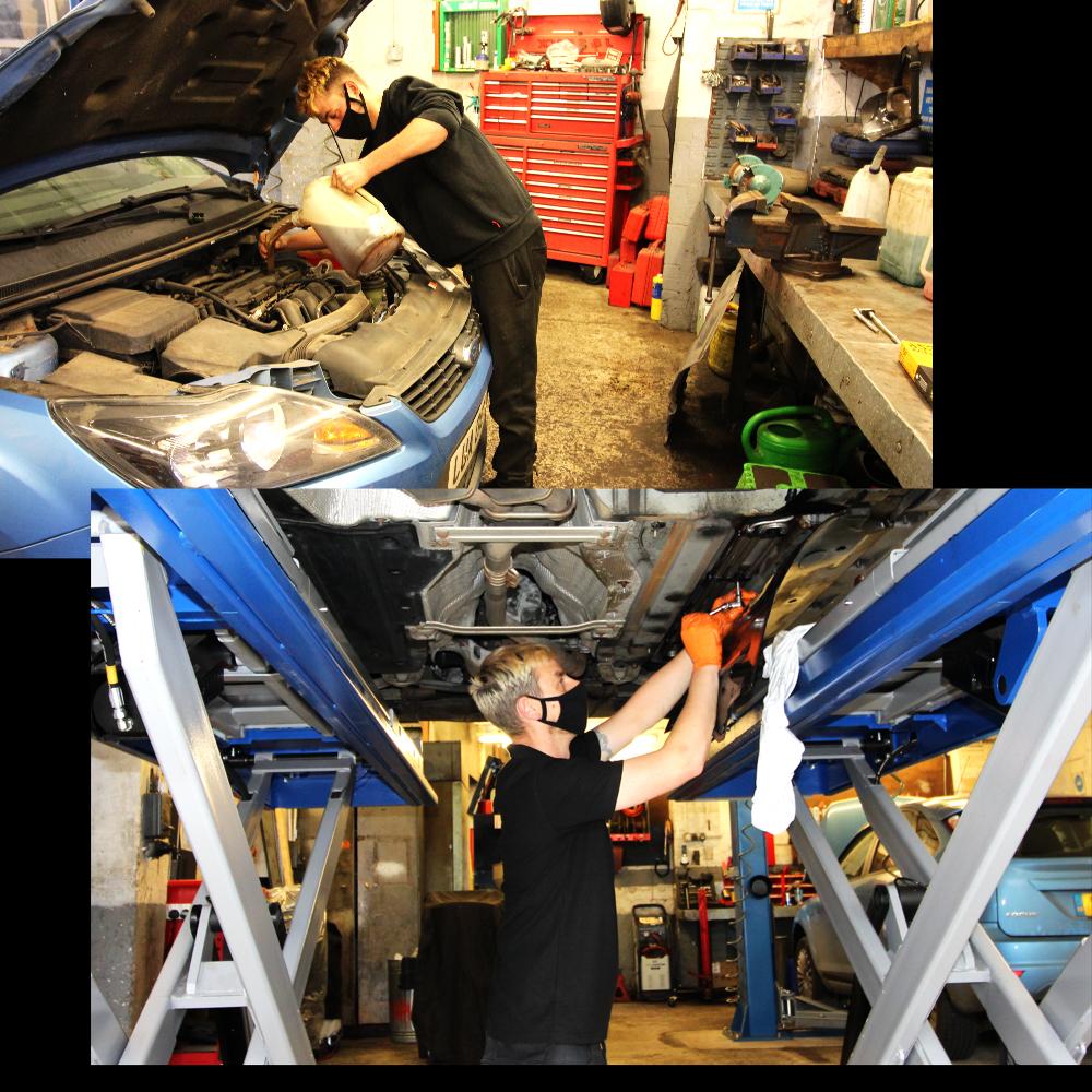 Service - J&S Dack School Garage