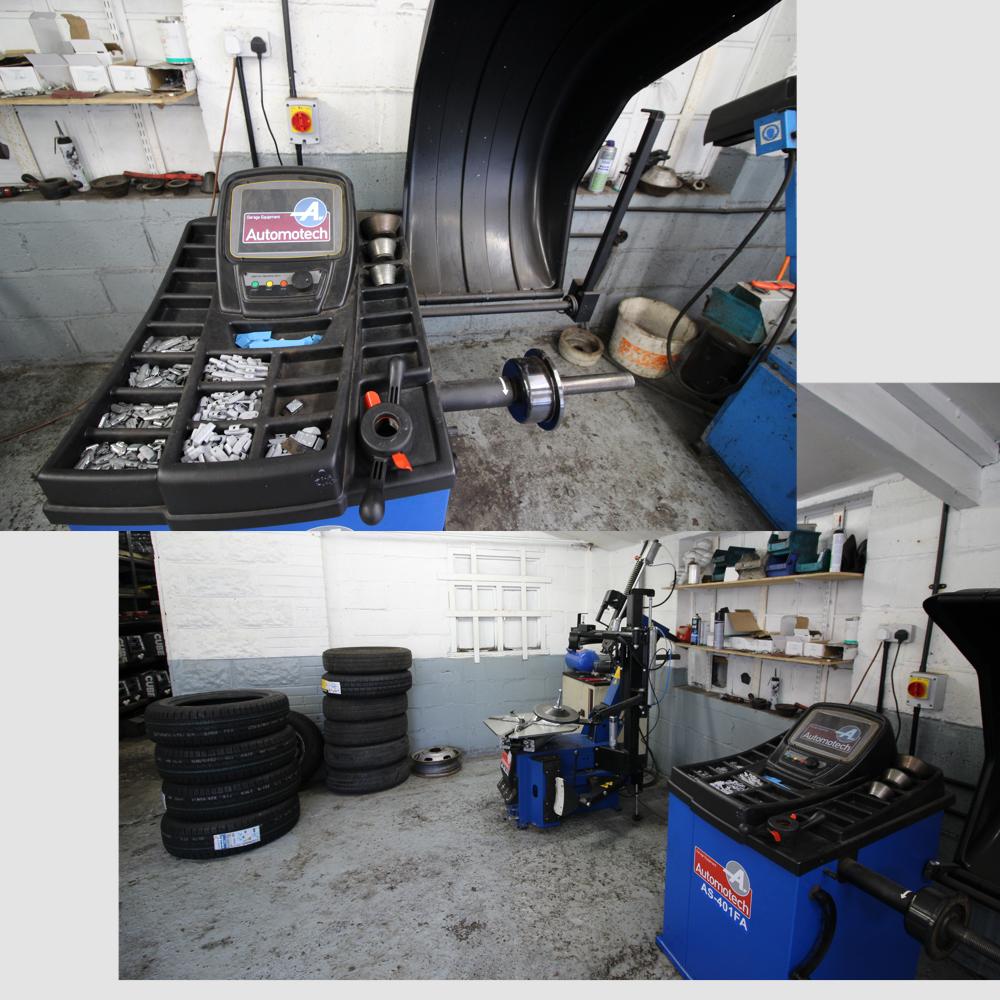 Tyres and Exhausts - J&S Dack School Garage